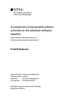 A comparison of two parallel solution schemes for the