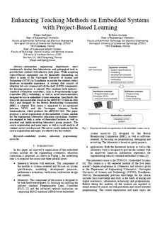 Enhancing Teaching Methods on Embedded Systems with Project-Based
